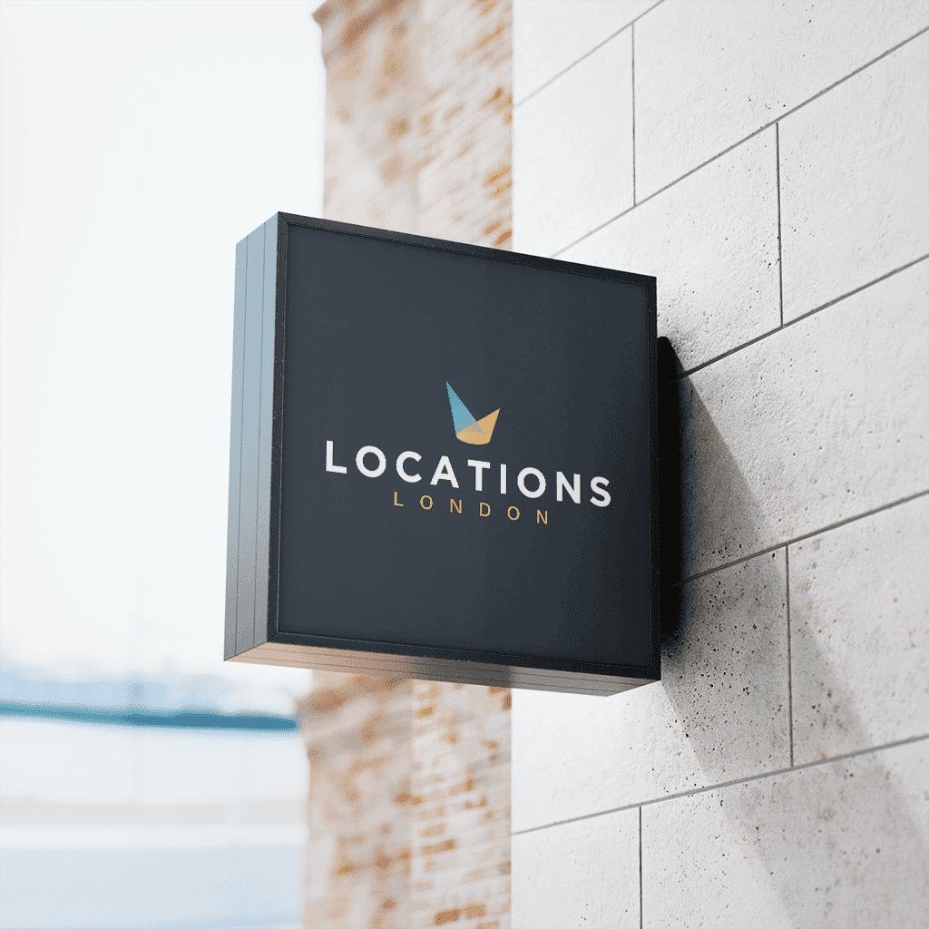 locations london logo design