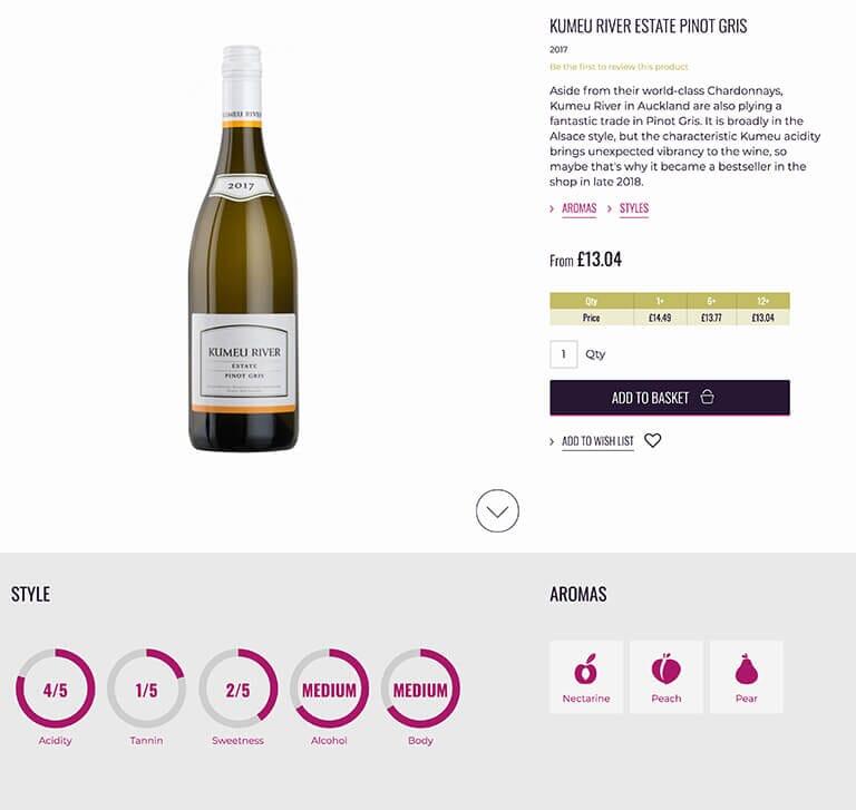 Tivoli Wines Magento 2