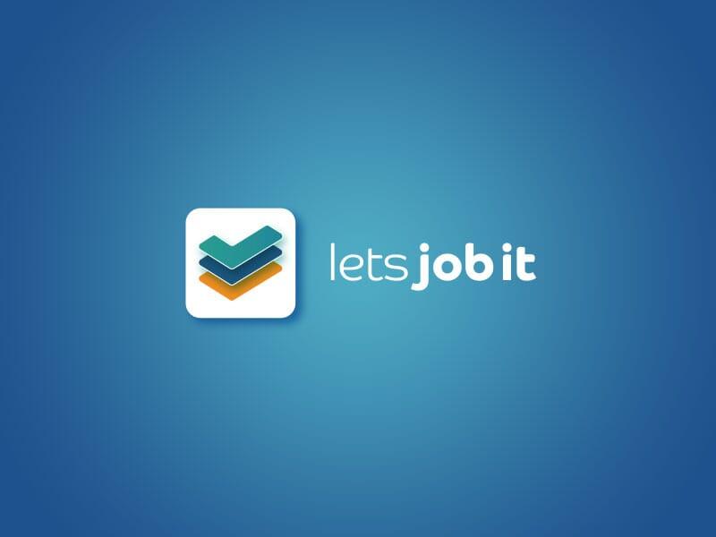 lets-job-it-logo design