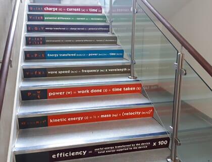 Stair Sticker