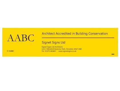 AABC Signboard